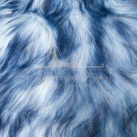 Коза (Як) 'белая+голубые концы'